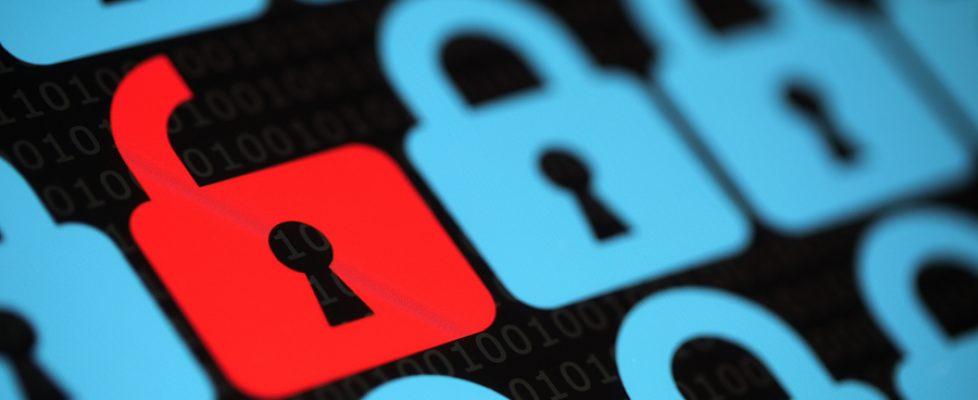 bigstock Internet security concept open 58838978